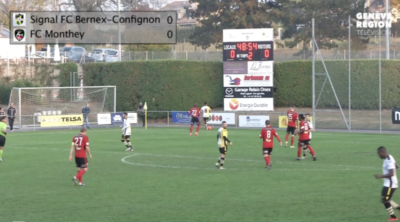 Signal FC Bernex-Confignon – FC Monthey