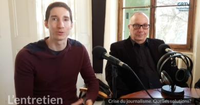 Fabien Feissli et Thierry Brandt, journalistes