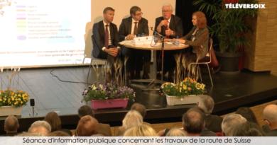 Seance d'information publique Versoix
