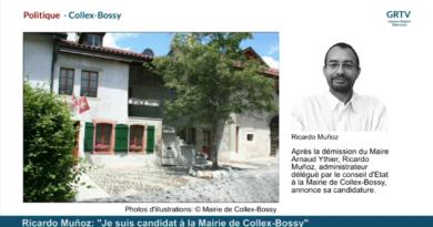 """Ricardo Muñoz: """"Je suis candidat à la Mairie de Collex-Bossy"""""""
