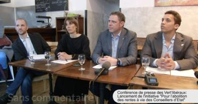 """Initiative """"Pour l'abolition des rentes à vie des Conseillers d'Etat"""""""
