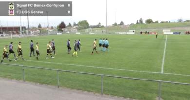 Signal FC Bernex-Confignon – FC UGS Genève