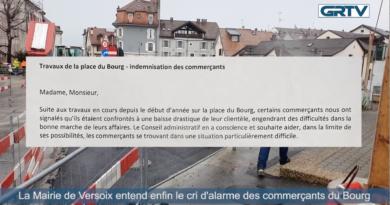 La Mairie de Versoix entend enfin le cri d'alarme des commerçants du Bourg