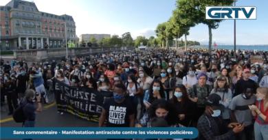 Manifestation antiraciste contre les violences policières