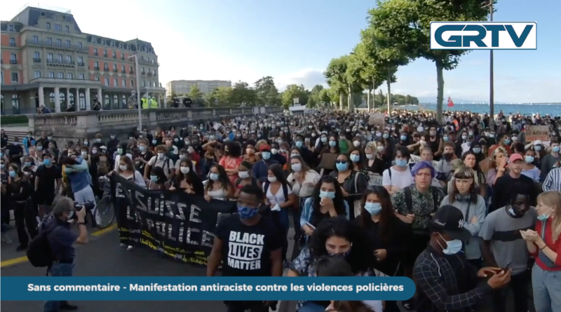 Manifestation anti raciste