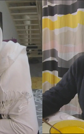 Rencontre avec Khadija Touré et Pierre Challandes à la Pelotière, à Versoix